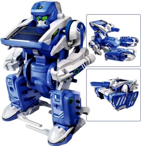 3-in-1 Educational T3 Solar Transforming Robot Science Kit DIY (Robot Brain compare prices)