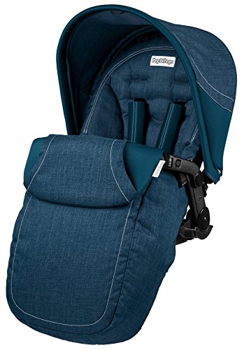 Peg Perego -  Seggiolino Pop Up Completo Saxony Blue