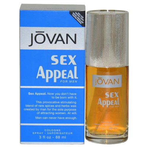 Jovan Sex Appeal by Jovan for Men - 3 Ounce EDC Spray