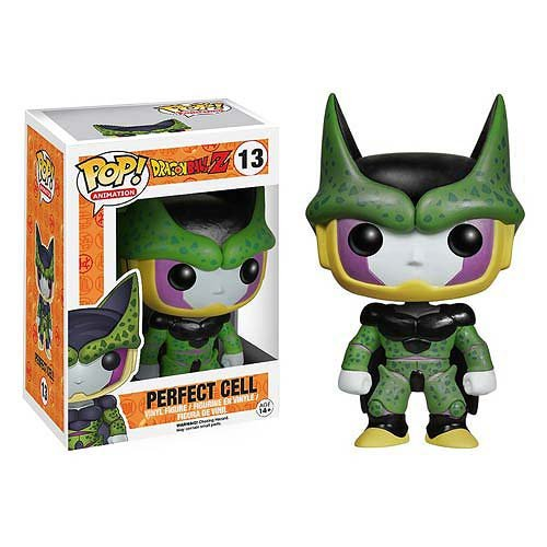 Dragon Ball Z Perfect Cell Pop Vinyl Figure with Box Protector