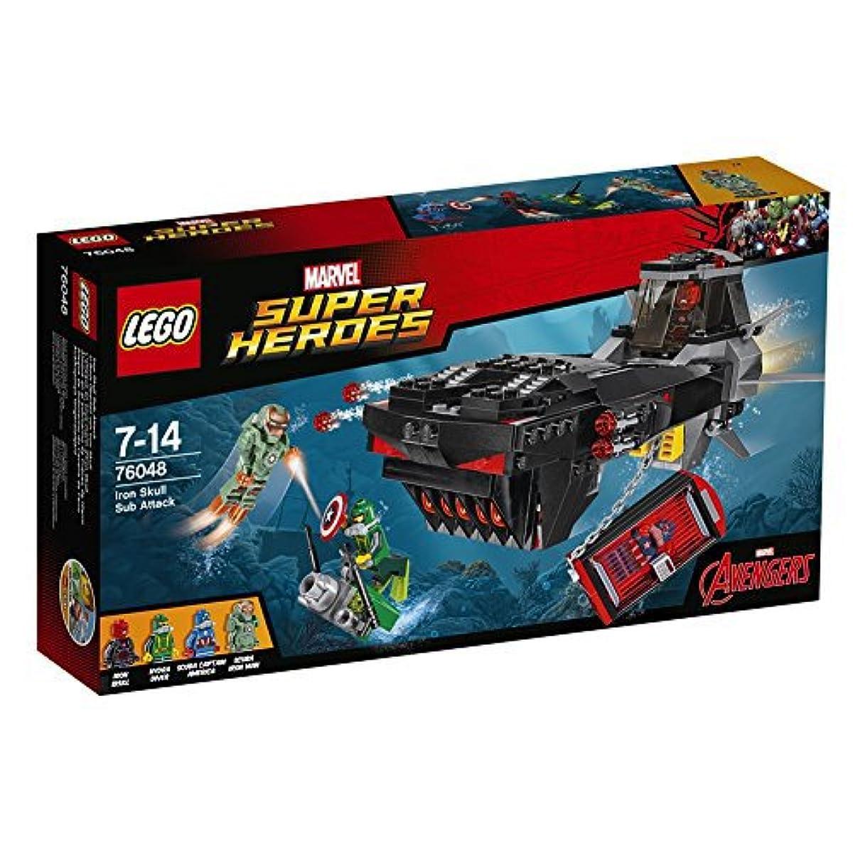 [해외] 레고 (LEGO) 슈퍼히어로즈 아이언 스쿨 서브 어택 76048-76048 (2016-01-15)