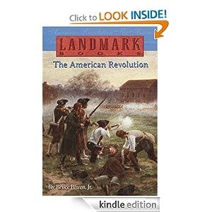 American Revolution (Landmark Books) Bruce Bliven