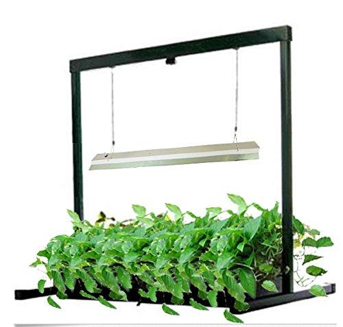 Generic Hydroponics T5 Propagation Grow Light 4*24W 6500K Cfl Tube Reflector Kit