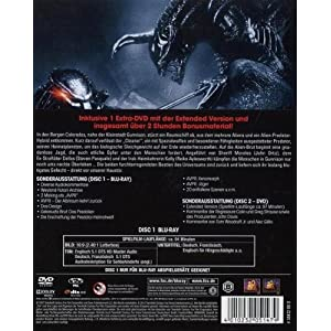 Aliens Vs. Predator 2 - Limited Cinedition (2 Blu- [Blu-ray] [Import allemand]