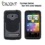 日本初上陸! 高耐衝撃性+防塵機能 Trident Case Cyclops for HTC EVO WiMAX Black トライデントケース サイクロプス ブラック au ISW11HT ケース