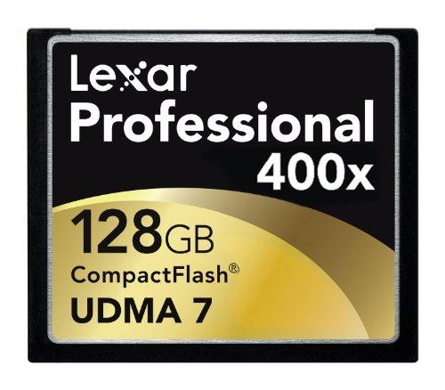 Lexar 128GB Professional 400x UDMA CompactFlash Memory Card