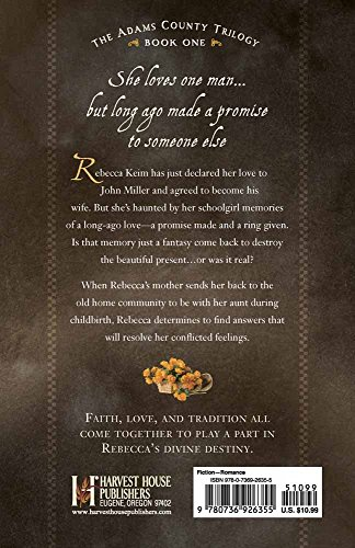 Rebecca's Promise (The Adams County Trilogy)