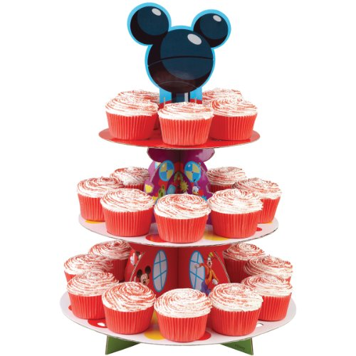 Disney Mickey Mouse Clubhouse Cupcake Stand (Mickey Mouse Theme Party Supplies compare prices)