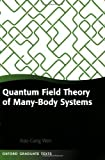 img - for Quantum Field Theory of Many-body Systems: From the Origin of Sound to an Origin of Light and Electrons (Oxford Graduate Texts) by Wen, Xiao-Gang(October 18, 2007) Paperback book / textbook / text book