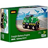 BRIO BRI-33214 Rail Freight Battery Train