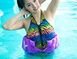 Inflatable multifunctional back swimming ring & floating