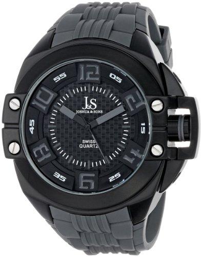 Joshua & Sons JS-39-GY - Reloj para hombres