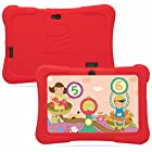 Dragon Touch 7-Inch Tablet with Silicon Case (Red) – (Allwinner Quad Core 1.2 GHz , 8 GB RAM, Android 4.4)