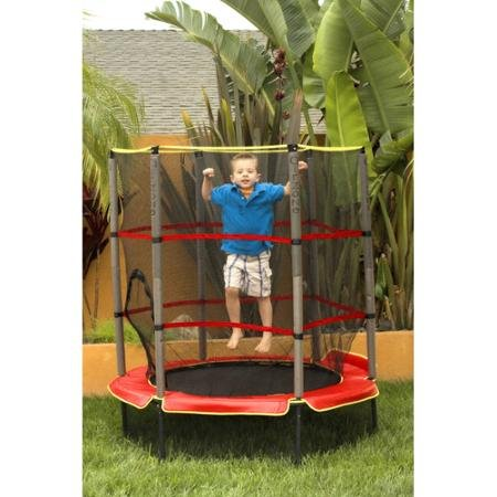 Airzone-55-Trampoline-Red-Includes-Rail-Padding-And-More