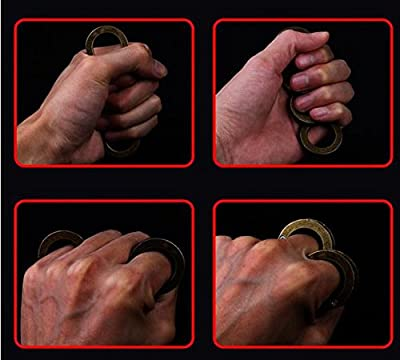 BINGUO® Super Useful Finger Self-defense Ring Magic Ring Outdoor Survival Equipment Tool by BINGUO
