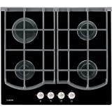 AEG HG694340NB Built In 60cm Gas on Glass Hob in Black 4 gas burners