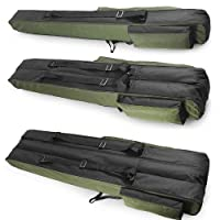 Fishing Rod Holdall, Holder, Bag, Carry Case, Luggage for made up rods with reels - 140cm / 55in by JPA Adventure