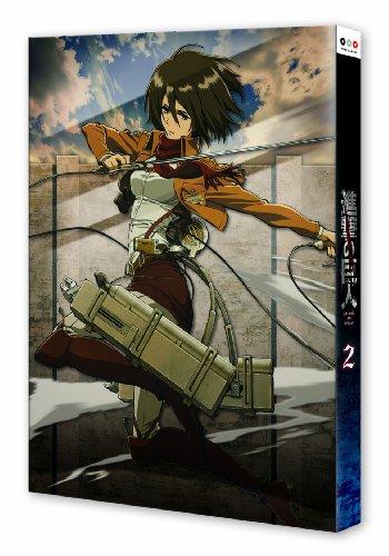 進撃の巨人 2 (初回特典:諫山創監修ニセ予告ドラマCD付き) [Blu-ray]