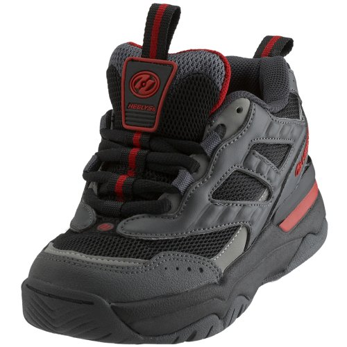 Heelys Escape 9111-100 Charcoal/Gray/Black/Red UK 9