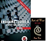 Endgame Turbo 4 - Syzygy Tablebases on 4 DVDs with Sun Tzu's Art of War E-Book (2 item bundle)