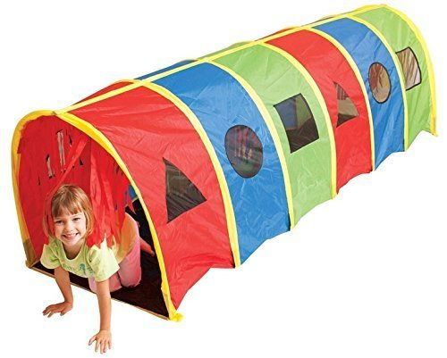 Pacific Play Tents Tickle Me 9′ x 30″ Tunnel Geo Playhouse by PACIFIC PLAY TENTS günstig