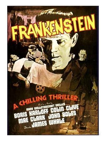 Vitality Frankenstein, Boris Karloff, 1931 Television Show Poster Print