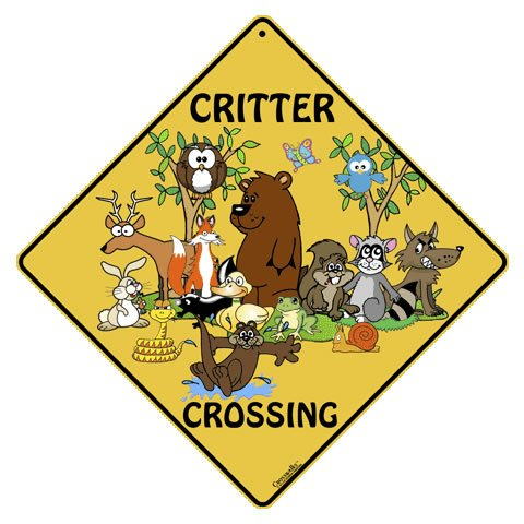Animal Crossing Signs - Critter Crossing