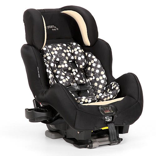 The First Years True Fit Si Convertible Car Seat Black/Khaki front-225910