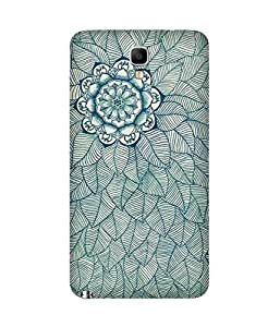 Flower And Lead Doodle Samsung Galaxy Note 3 Neo Case