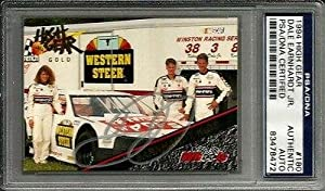 1994 High Gear GOLD Dale Earnhardt Jr Signed Family RC Card Slabbed - PSA DNA... by Sports Memorabilia