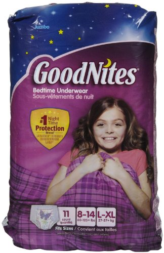 Goodnites Underwear - Girl - 11 ct., Size 11