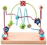 Happy Cherry - Juguetes Juegos educativos de Psicomotricidad Cuentas Madera motricidad para Apilar Contar para Beb�s Ni�os ni�as