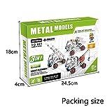 METAL MODELS 3in1 工事車 137pcsセット 金具組立てキット ランキングお取り寄せ