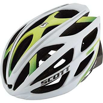Scott Wit-R Contessa Damen Rennrad Fahrrad Helm weiss/grün 2014: Größe: M (55-59cm)