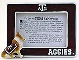 Texas A-M Mascot Frame Maroon