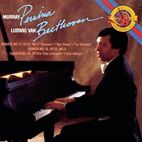 Beethoven: Sonata for Piano Nos. 17, 18 & 26