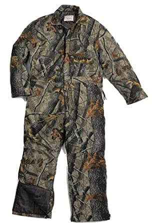 Walls Mens Hunting Black Duck Insulated Coveralls by Unknown