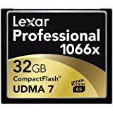 Lexar Professional 1066x 32GB VPG-65 CompactFlash card (Up to 160MB/s Read) w/Free Image Rescue 5 Software LCF32GCRBNA1066