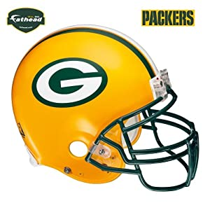 Fathead Green Bay Packers Helmet Wall Decal by Fathead