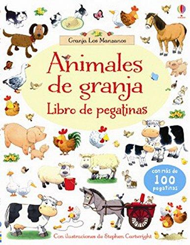 Animales De La Granja. Libro De Pegatinas