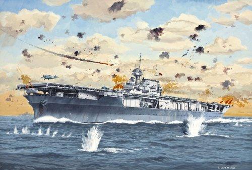 Revell Modellbausatz 05800 - U.S.S Yorktown (CV-5)