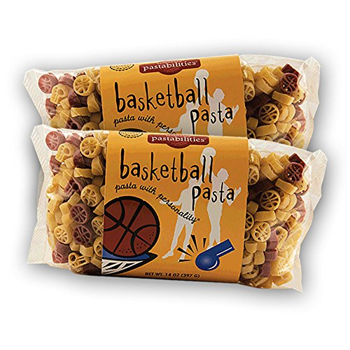 Pastabilities - Basketball Pasta - 14 oz. (Pack of 2) (Basketball Pasta compare prices)