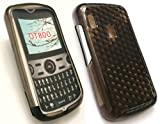 EMARTBUY ALCATEL OT-800 HEXAGON PATTERN GEL SKIN COVER/CASE BLACK