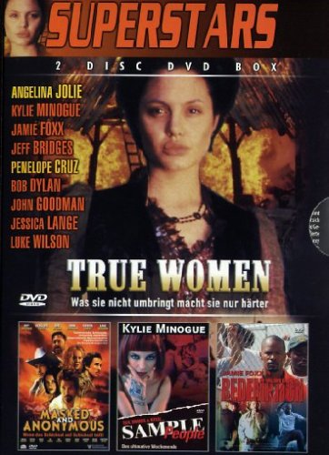 4 Film-Box Superstars : True Women - Masked And Anonymous - Sample People - Redemption [2 DVDs]