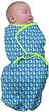 Baby Studio Swaddle - Ganzkörper-Pucksack - Neugeborenes - Blau Obst (0-3 Monate)