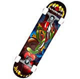 Punisher Skateboards Ranger 31-Inch Double Kick Concave Complete Skateboard