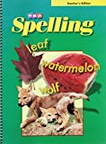 img - for SRA Spelling: Teacher's Edition - Grade 4 book / textbook / text book