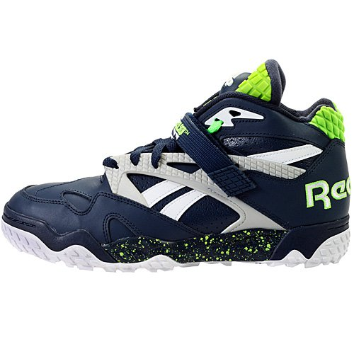 Reebok Pump Paydirt Seattle Seahawks Sneaker Navy 10.5 at Amazon.com