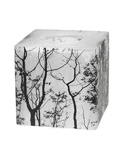 Creative Bath Sylvan Tissue Holder, Black/White