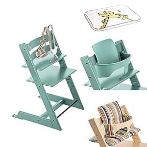 Stokke tripp trapp chair w baby set stokke - Tripp trapp stuhl amazon ...